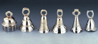 "2"" Assorted Chrome Plated Bells (Per Dozen)"
