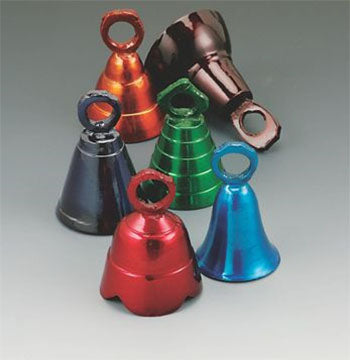 "2.5"" H Assorted Aluminum Collector Bells (Per Dozen)"