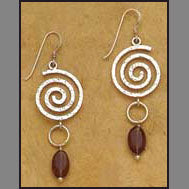 Kundalini Spiral Earrings