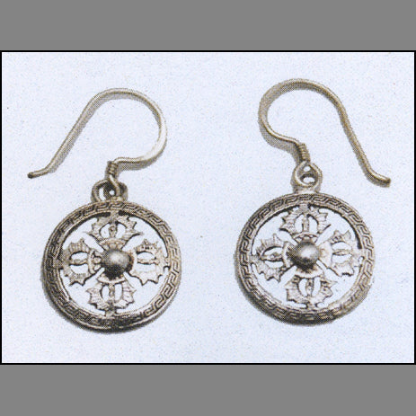 Tibetan Dorje Earrings