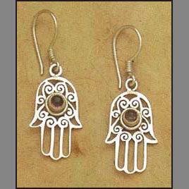 Blessing Hand Earrings