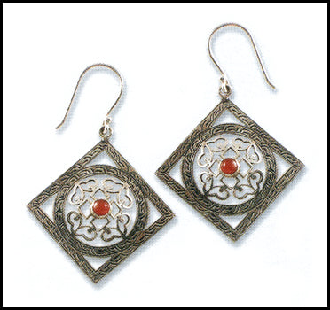 Mandala Frame Earrings