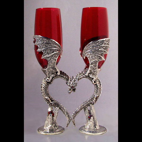 Dragon Heart Wing Glasses