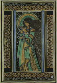 Celtic Angel Tapestry