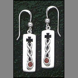 Everlasting Cross Earrings