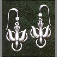 Trinity Dove Earrings