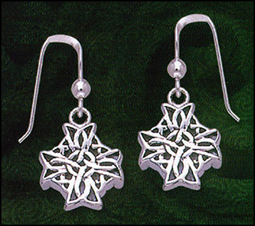Cross Knot Earrings