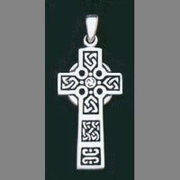 Scriptures Cross Pendant
