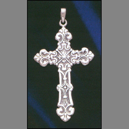 Floral Cross Pendant