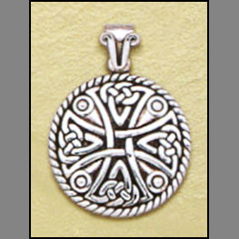 Celtic Shield Cross Pendant