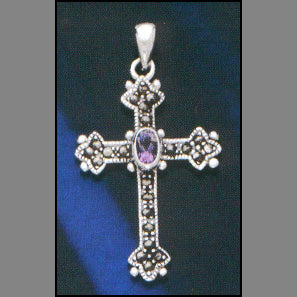 Radiant Cross Pendant