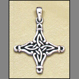 God's Eye Cross Pendant