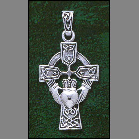 Love, Loyalty & Friendship Cross Pendant