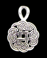 Celtic Knot Slider Pendant
