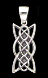 Rectangle Knot Pendant