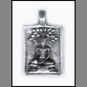 Buddha in Meditation Pendant