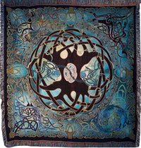 Tree of Life Mandala Tapestry