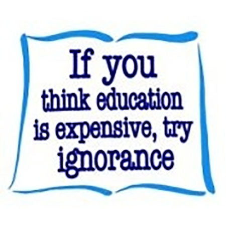 If You Think Education T-Shirt