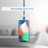 FLOVEME LED Magnetic Charging Cable For Lightning, Micro USB or USB Type C