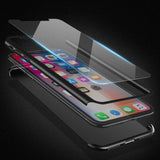 FLOVEME Full Body Case For iPhone 6, 6 Plus, 6S, 6S Plus, 7, 7 Plus, 8, 8 Plus, X, XR, XS, XS Max + FREE Tempered Glass Screen Protector