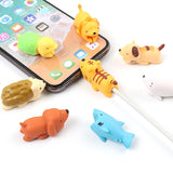 KISSCASE Cute Animal Universal Cable Protector