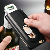 Bottle Opener 2 in 1 Case for iPhone 5, 5S, SE, 6, 6S, 7, 8