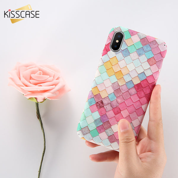 Mermaid and Fish Scale 3D Case for iPhones, Samsung Galaxy, Huawei and Xiaomi Phones