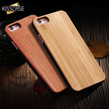 KISSCASE Natural Wood Case For iPhone and Samsung Galaxy Phones
