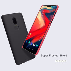 NILLKIN Super Frosted Case for OnePlus 3, 3T, 5, 5T, 6 with Free Screen Protector