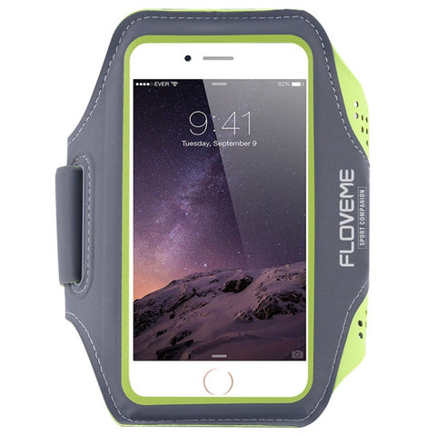 Waterproof Sports Arm Band Case For iPhone 6, 6 Plus, 6S, 6S Plus, 7, 7 Plus Green / For iPhone 6, 6S by Floveme - Titanwise