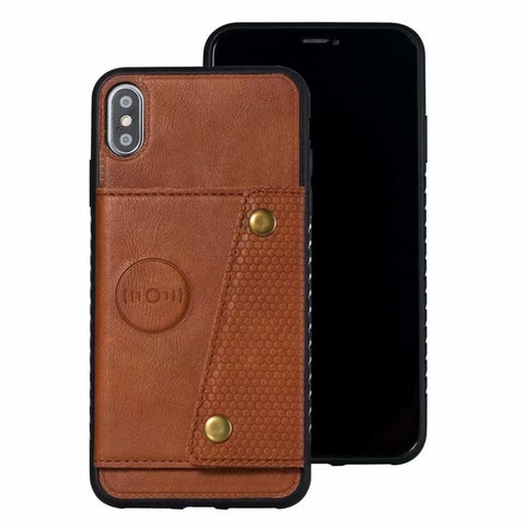 Tikitaka New Magnetic Double Flip Wallet Case for iPhone 6, 6 Plus, 6S, 6S Plus, 7, 7 Plus, 8, 8 Plus, X, XR, XS, XS Max, 11, 11 Pro, 11 Pro Max