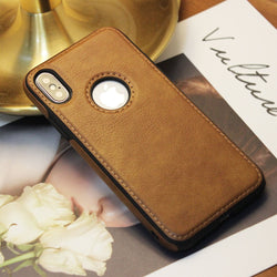 TikiTaka Slim Leather Protective Case for iPhone 6, 6 Plus, 6S, 6S Plus, 7, 7 Plus, 8, 8 Plus, X, XR, XS, XS Max, 11, 11 Pro, 11 Pro Max