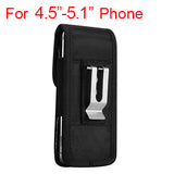 Universal Nylon Belt Clip Phone Pouch Case with Velcro Closure