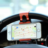 Universal Steering Wheel Car Mobile Phone Holder by Raxfly - Titanwise