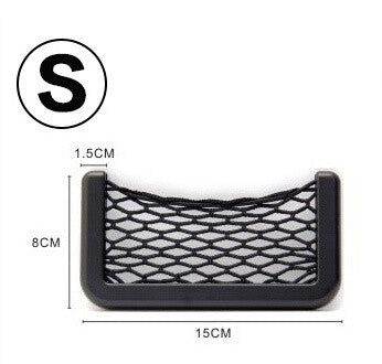 Car Storage Net For Mobile Phone - Available in two sizes Small by BQ Trade Co - Titanwise