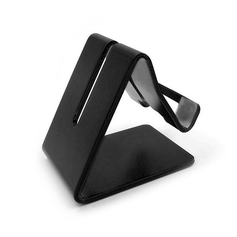 Aluminium Desktop Universal Tablet Stand - Available in 7 colours Black by Kisscase - Titanwise