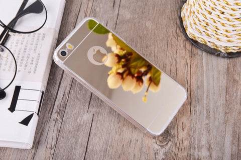 Mirror Case For iPhone 4, 4S, 5, 5S, 5C, SE, 6, 6 Plus, 6S, 6S Plus, 7, 7 Plus, 8, 8 Plus, X