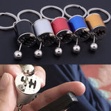 Shifting Gearbox Fidget Key Ring