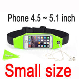 Universal Mobile Phone Waterproof Waist Pouch with Headphone Socket