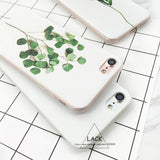 3D Flower and Leaf Case for iPhone 6, 6 Plus, 6S, 6S Plus, 7, 7 Plus