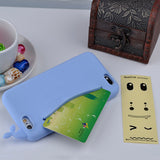 Cute Whale Storage Case for iPhone 4, 4S, 5, 5S, 5C, SE, 6, 6S, 7 Sky Blue / For iPhone 4, 4s by Titanwise - Titanwise