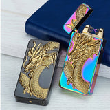 USB Rechargeable Metal Animal Design Plasma Lighter with Pulsed Arc