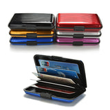 Aluminium Metal Bank Card Anti-RFID Wallet Card Holder Case