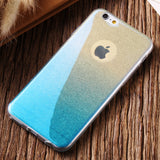 KISSCASE Glitter Multi-colour Gradient Case for iPhone 6, 6 Plus, 6S, 6S Plus, 7, 7 Plus, 8, 8 Plus