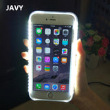 LED Flash Selfie Case For iPhone 5, 5S, 5C, SE, 6, 6 Plus, 6S, 6S Plus, 7, 7 Plus, 8, 8 Plus