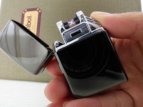 Mini USB Rechargeable Plasma Lighter with Double Arc Pulse