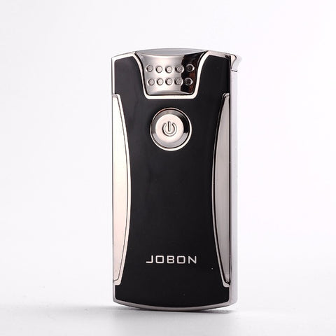 Two Tone Metal USB Rechargeable Plasma Lighter with Double Arc Pulse