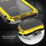 Waterproof IP68 Aluminium Metal Armour Case For iPhone 6, 6 Plus, 6S, 6S Plus, 7, 7 Plus, 8, 8 Plus, X, XR, XS, XS Max
