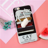 3D Squishy Cat Case for iPhone 6, 6 Plus, 6S, 6S Plus, 7, 7 Plus, 8, 8 Plus