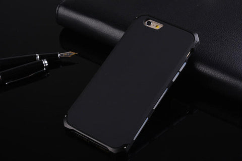 Aluminium & Silicone Case For iPhone 5, 5S, 5C, SE, 6, 6 Plus, 6S, 6S Plus, 7, 7 Plus, 8, 8 Plus, X, XR, XS, XS Max